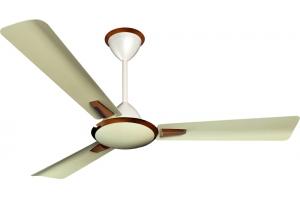 Aura metallic bronze ceiling fan