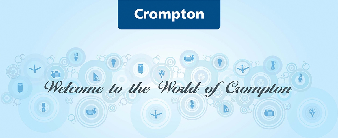 Crompton Fans, Appliances, Lighting, Pumps