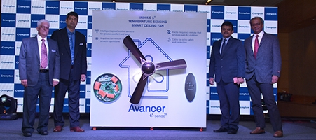 India's 1st Temperature Sensing Fan – Avancer e-sense