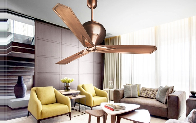 Electroplated fans