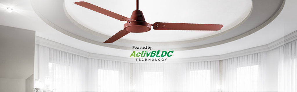 Save energy with Crompton's Energy saving fans