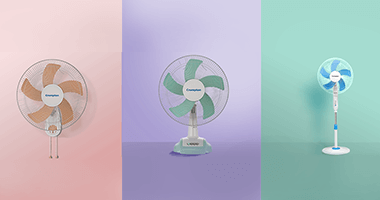 Table fan Vs Wall mounted fan: Choose what suits you the best in this detailed comparison - Crompton