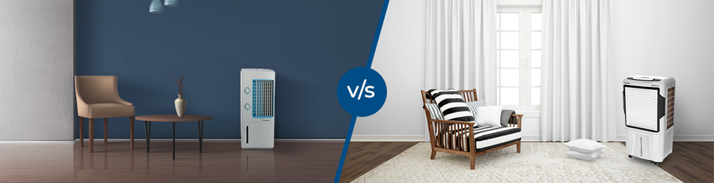Choose what's the best for you. Find out between Personal air coolers and Desert air coolers