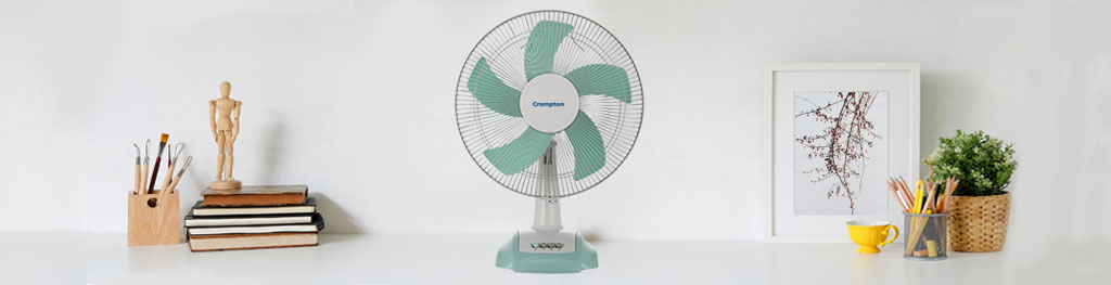 The top benefits of table fan - Crompton