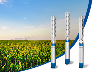 Borewell Submersible pumps in India at low price | Crompton