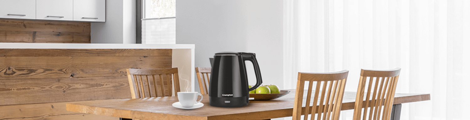 How To Choose The Right Electric Kettle? - Crompton