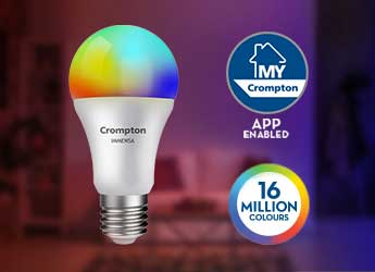 Smart Lighting - Smart LED Bulbs Immensa - Crompton