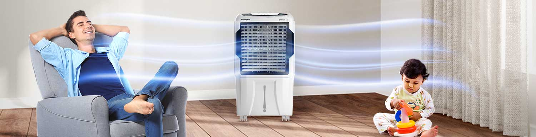 Optimus 65 IoT - Air Cooler - Crompton